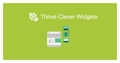 Thrive: Clever Widgets