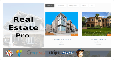 WP Real Estate Pro: Real Estate Plugin for WordPress