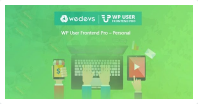 WeDevs: WP User Frontend Pro (Professional Edition)
