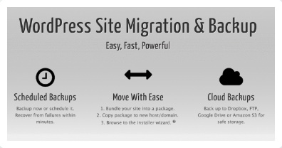 Duplicator Pro – WordPress Site Migration & Backup